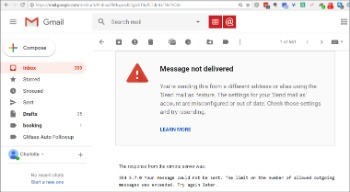 why is gmail not working